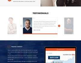 #21 for Trading Website (HTML & Responsive) by greenarrowinfo