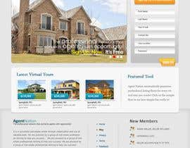 #70 para ReDesign for AgentNation.com - Interactive, social, marketing site for Real Estate Pros! por Macroads
