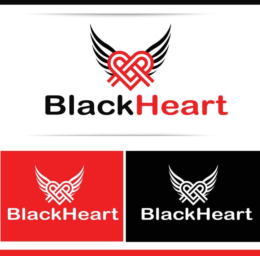 Konkurrenceindlæg #                                        116                                      for                                         Design a Logo for a Black Heart