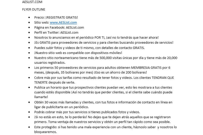 Penyertaan Peraduan #                                        8                                      untuk                                         Translate 600 words from English To Spanish