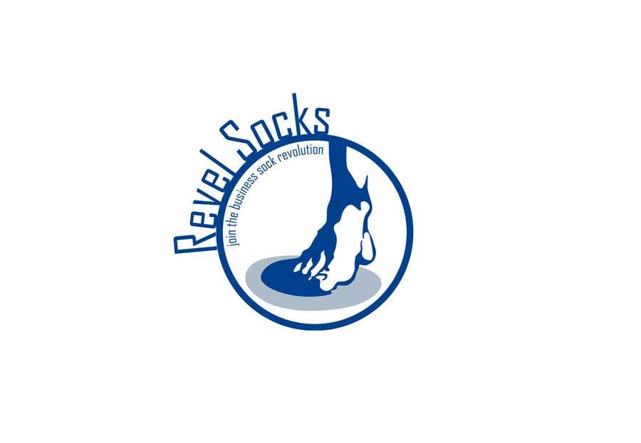 Конкурсная заявка №87 для Logo Design for Revel Socks