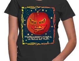 Nro 61 kilpailuun Halloween T-shirt Designs käyttäjältä ratnakar2014