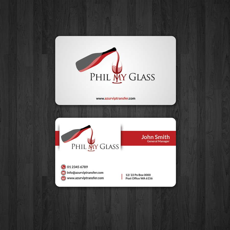 Entry 2 by papri802030 for wine business card back design freelancer wine business card back design colourmoves