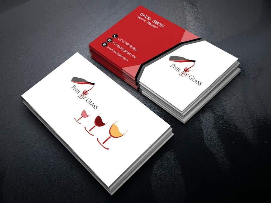 Entry 96 by ksbreaz for wine business card back design freelancer contest entry 96 for wine business card back design colourmoves