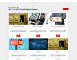 #155 for Website Design for Postal Shipping Company af ksumon4711
