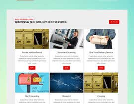 #156 for Website Design for Postal Shipping Company af ksumon4711