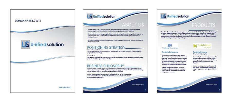 Penyertaan Peraduan #                                        19                                      untuk                                         Graphic Design for Company profile