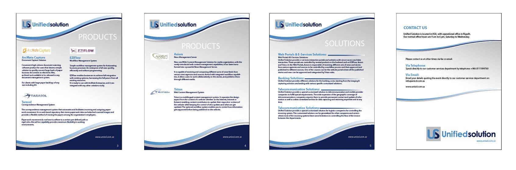 Penyertaan Peraduan #                                        20                                      untuk                                         Graphic Design for Company profile