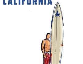 #6 for Edit an existing T-Shirt Design: Santa Cruz, California by mustaksany