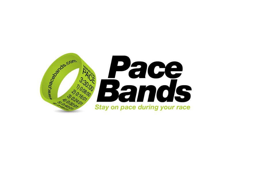 Konkurrenceindlæg #                                        27                                      for                                         Logo Design for Pacebands