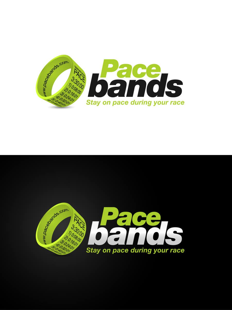 Konkurrenceindlæg #37 for Logo Design for Pacebands