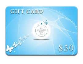mishante tarafından Design some Stationery for a gift card to used on a website için no 21