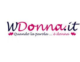 nº 140 pour Logo Design for www.wdonna.it par alinhd