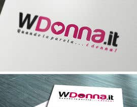 nº 13 pour Logo Design for www.wdonna.it par gfxbucket