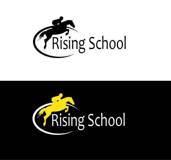 Kilpailutyö #3 kilpailussa Riding School Logo