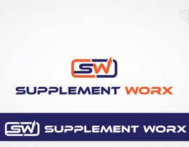 nº 50 pour Logo Design for Supplement Worx par Ferrignoadv