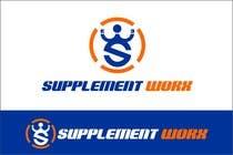 Logo Design for Supplement Worx için Graphic Design243 No.lu Yarışma Girdisi