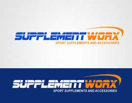 nº 102 pour Logo Design for Supplement Worx par sarah07