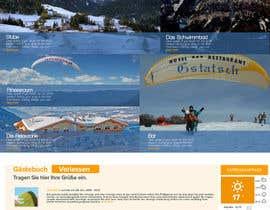 #5 for Design eines Website Layouts für Hotel by iramashlay