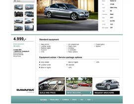 #45 para Website Design for Bavaria KBH (Car Leasing + Finansing website) por solidussnake