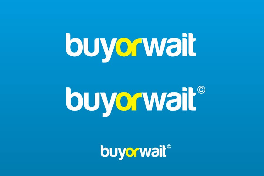 Конкурсная заявка №1279 для Logo Design for BuyOrWait