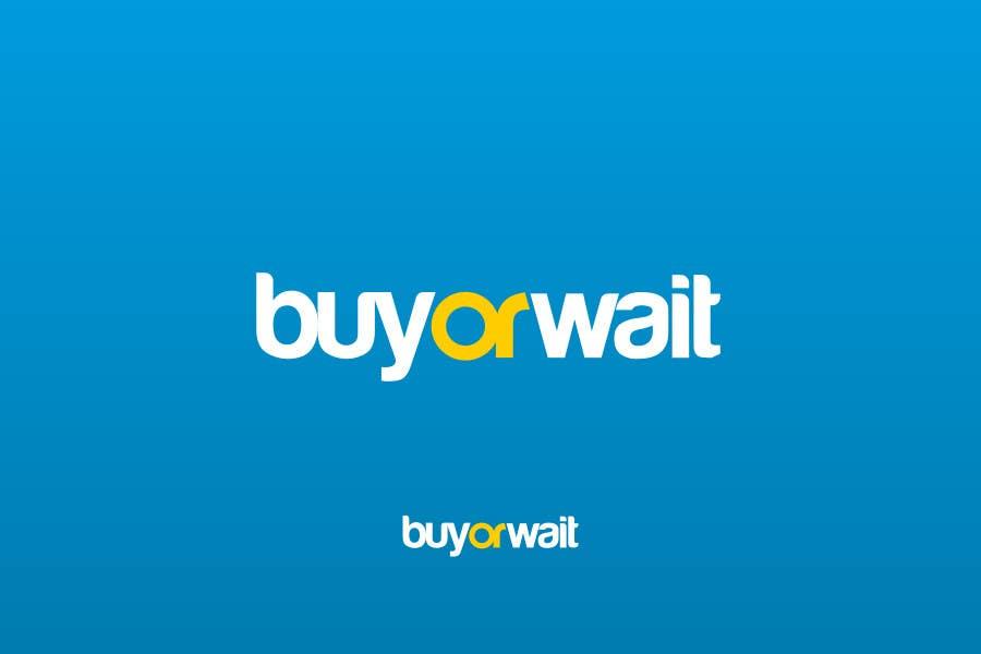 #774 for Logo Design for BuyOrWait by dimitarstoykov
