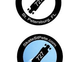 #3 untuk SkateStPete.com Needs a Custom Skateboarding Logo for a New site going up. oleh richardginn