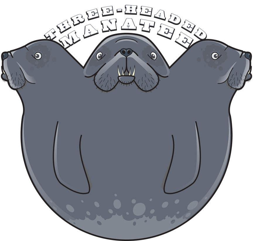 Inscrição nº                                         16                                      do Concurso para                                         Logo Design for Three-headed Manatee