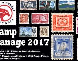 Nro 10 kilpailuun Splash Screen For Our Stamp Collecting Software käyttäjältä jessebauman