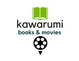 driesputter tarafından suggest a Japanese or some interesting name and logo for a company selling books and movies için no 15