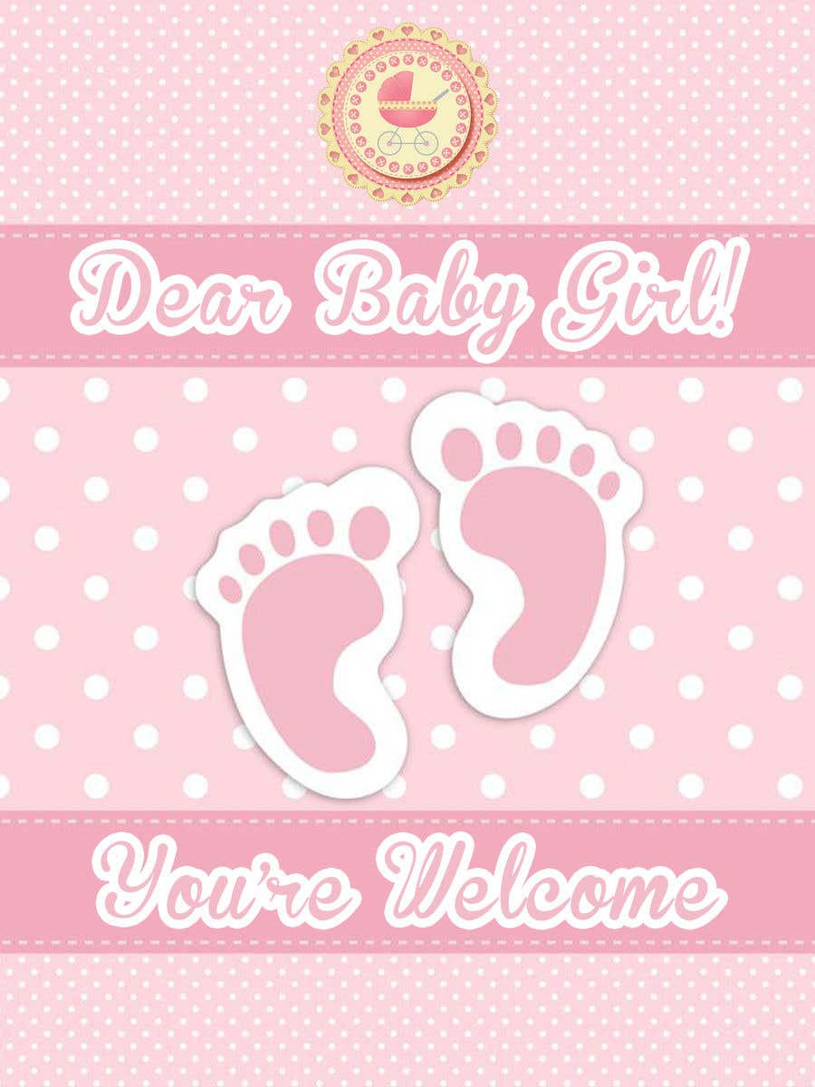 Entry 1 By Rnithees For Design Baby Shower Invitation Card