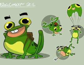 #34 untuk Help us create a FROG that will be our MAIN CHARACTER for new KIDS ipod app. oleh gianlucaromano