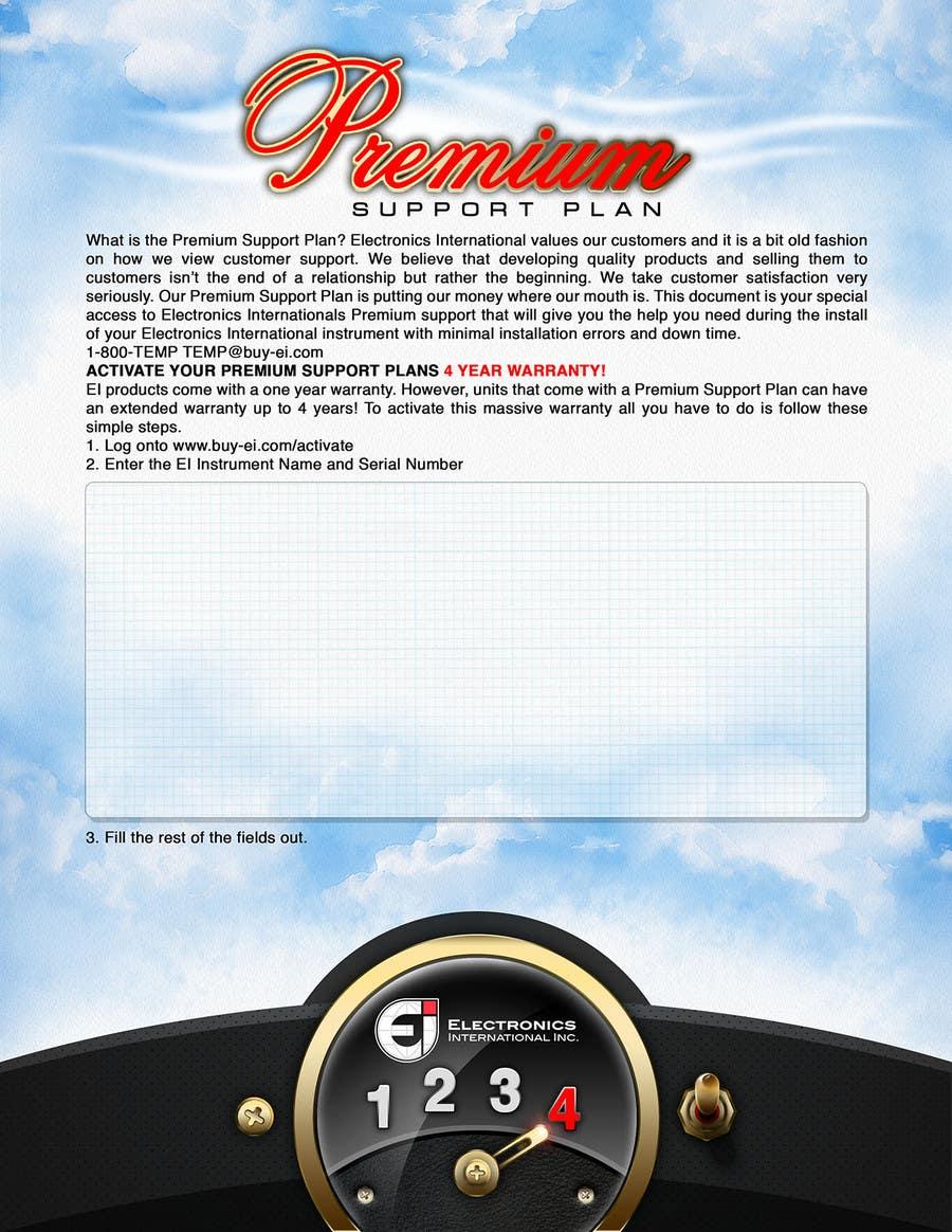Конкурсная заявка №29 для Flyer Design for Electronics International