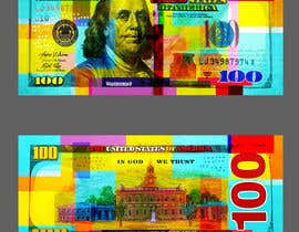 #18 for Create High Quality and Very Colorful Artwork of a $100 Dollar US Bill af banhthesanh