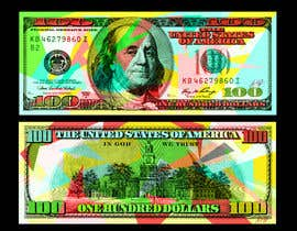 #34 for Create High Quality and Very Colorful Artwork of a $100 Dollar US Bill af danielcflores