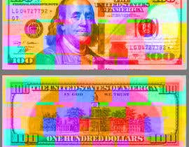#42 for Create High Quality and Very Colorful Artwork of a $100 Dollar US Bill af javethrjr