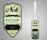 Graphic Design Kilpailutyö #118 kilpailuun Graphic Design- Label for fruit liqueur.