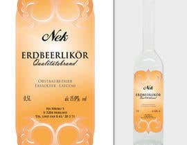 #121 for Graphic Design- Label for fruit liqueur. by BuDesign