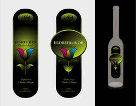 #144 untuk Graphic Design- Label for fruit liqueur. oleh BuDesign