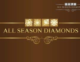 #216 para Logo Design for All Seasons Diamonds de nearart
