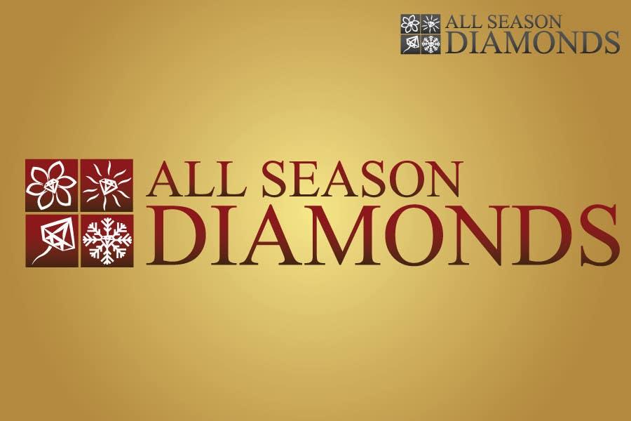Zgłoszenie konkursowe o numerze #218 do konkursu o nazwie Logo Design for All Seasons Diamonds