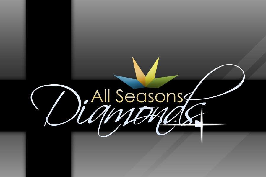 Zgłoszenie konkursowe o numerze #35 do konkursu o nazwie Logo Design for All Seasons Diamonds