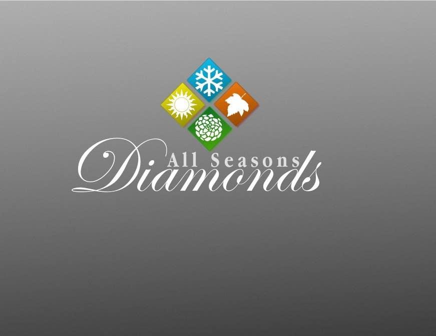 Zgłoszenie konkursowe o numerze #85 do konkursu o nazwie Logo Design for All Seasons Diamonds