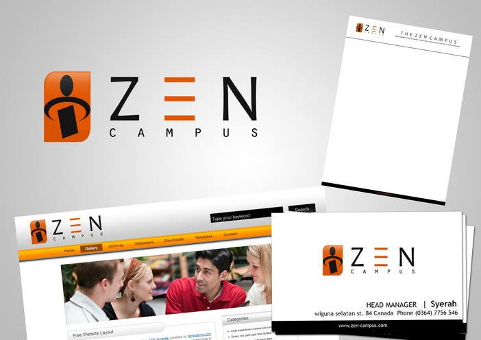 #104 for Logo Design for The Zen Campus by poetotti