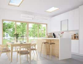 Nro 19 kilpailuun Kitchen & Living room Interior Design käyttäjältä bktiger21