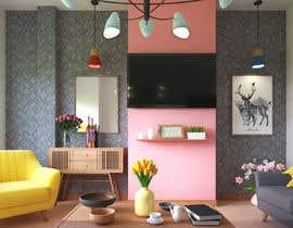 Nro 32 kilpailuun Kitchen & Living room Interior Design käyttäjältä bktiger21