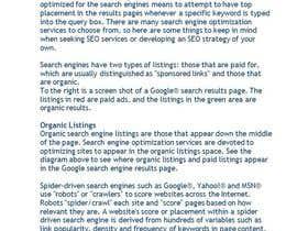 #13 untuk Financial Blogs and  Posting for a CEO oleh rebonmalik