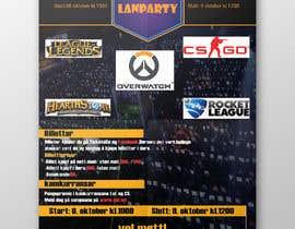 #24 for Make a poster for a LAN party af clickjustdesign