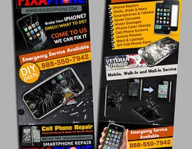 #7 para Graphic Design Flyer for Fix A Phone por creationz2011