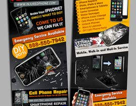 #10 for Graphic Design Flyer for Fix A Phone af creationz2011